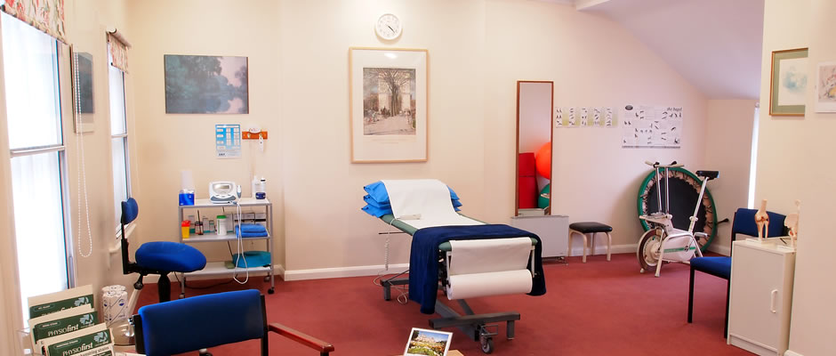 Ann McLaughlin Physiotherapy Treatment Room